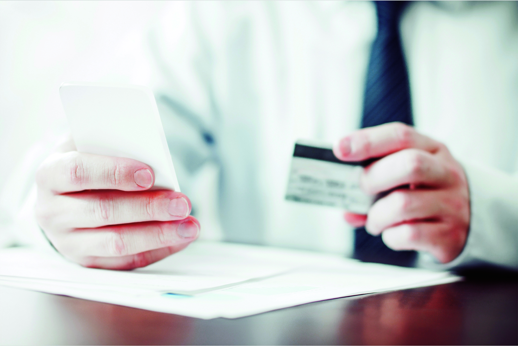 safe online banking - credit card