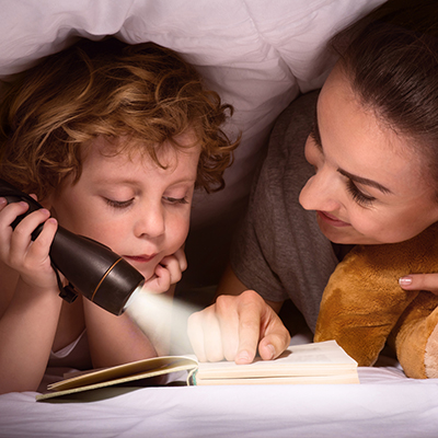 mother-and-son-reading-book