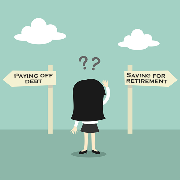 Pay off Debt vs. Save for Retirement